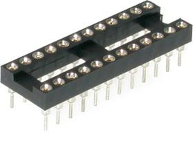 TRS-24 (SCSM-24) (DS1001-01-24N), DIP панель 24-контактная цанговая узкая