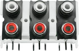 RS-609 (DTR-0206V), RCA JACK 6 разъемов на плату