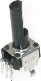 Фото 1/2 PTV09A-4225F-B104, 100 кОм, Резистор переменный