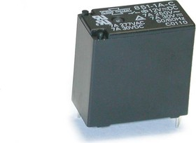 851-1C-C 12VDC, Реле 1пер. 12В / 5A, 250V (OBSOLETE)