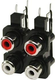 RS-403, RCA JACK 4 разъема на плату