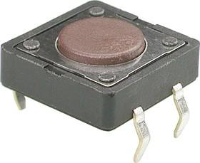 Фото 1/3 KLS7-TS1202--4.3-180 (TS-12ASP) (SWT-5) (SDTX-210-N), Тактовый переключатель h=4.3мм