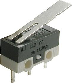 DM3-03P, Микропереключатель с лапкой (125В, 3А)