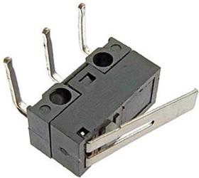Фото 1/2 DM1-01C-30, Микропереключатель с лапкой, угловой (125В 1А)
