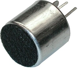 ECM-30C, 4.5 В, 10 мм, Микрофон электретный