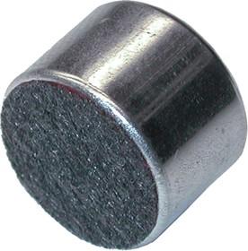 ECM-60D, 4.5 В, 10 мм, Микрофон электретный