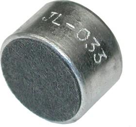 ECM-66A, 4.5 В, 10 мм, Микрофон электретный