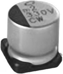 UCW1C221MCL1GS, Cap Aluminum Lytic 220uF 16V 20% (6.3 X 8.7mm) SMD 230mA 7000h 105°C Automotive T/R