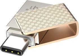 Фото 1/7 6007-032GR102A, Флеш-накопитель PQI Connect 313 USB 3.1 Type-C OTG Flash Drive 32GB