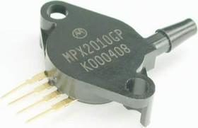 MPX2010GP, датчик давления относительный компенс 10кПа 25мВ 10В 1.6% пластик 1 патр.