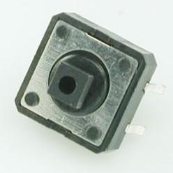 Фото 1/3 TC-12ET (DTS-24N) (SWT-9), Кнопка тактовая 12х12, h=7мм