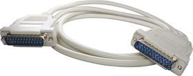XYC038 (1.8м), Нуль-модемный кабель LPT-LPT DB25M-DB25M