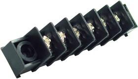Фото 1/2 X977T06, Клеммник шаг 7.62мм с отверстием 6-контактный