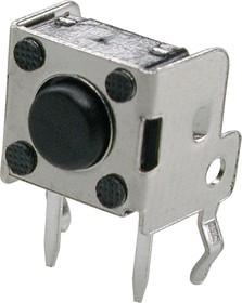 Фото 1/3 0743HIM-130G-G, кнопка тактовая угл. 7х7 h=3.15мм (аналог TS-A1PV-130 DTSA-61K-V)