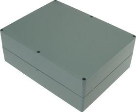 Фото 1/3 G3031, Корпус для РЭА 300х230х111 мм, пластик, темно-серый