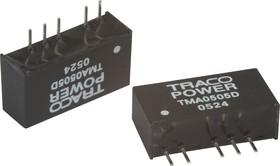 TMA 0505D, DC/DC преобразователь, 1Вт, вход 4.5-5.5В, выход 5,-5В/100мА