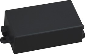 Фото 1/4 G1011, Корпус для РЭА 65х38х22мм, пластик, черный