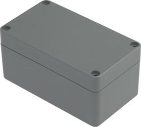 Фото 1/2 G308, Корпус для РЭА 115х65х55 мм, пластик, темно-серый