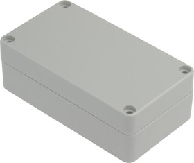 Фото 1/3 G203, Корпус для РЭА 115х65х40 мм, пластик, светло-серый
