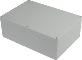 Фото 1/3 G238, Корпус для РЭА 265х185х95 мм, пластик, светло-серый