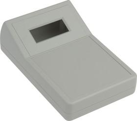 G1168G, Корпус для мультиметра с отверстием под ЖКИ 150х95х28.5/49.5, пластик, серый