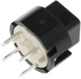 Фото 1/3 D6C90 F1 LFS, Switch Key N.O. SPST 0.1A 32VDC 3VA 1.3N PC Pins Thru-Hole Box
