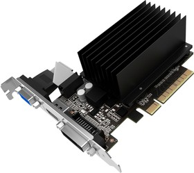 Фото 1/7 NEAT7100HD46-2080H, Видеокарта Palit PALIT GT710 2048M sDDR3 64B CRT DVI HDMI