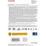 Фото 4/5 Карта памяти microSDXC UHS-I SANDISK Ultra 256 ГБ, 100 МБ/с, Class 10, SDSQUAR-256G-GN6MA, 1 шт., переходник SD
