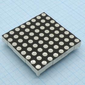 FYM-23881AUE-11, матрица 8x8 60.2mm OK Оранжевый 60-120mcd