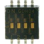 1571983-4, Переключатель DIP 4поз. 1.27мм (SMD)