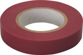 Изолента ПВХ 15мм х 20м красная