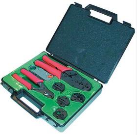 12-6001 (CT(N)-330K), Набор инструмента (обжимка + губки, зачистка, обрезка)