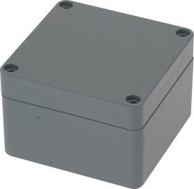 G366, Корпус для РЭА 82х80х55 мм, пластик, темно-серый