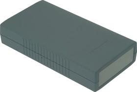 Фото 1/3 G421, Корпус для РЭА 190х100х40 мм, пластик, темно-серый