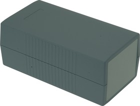 G425, Корпус для РЭА 190х100х80 мм, пластик, темно-серый