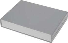 Фото 1/3 G715, Корпус для РЭА 225х165х40 мм, пластик, темно-серый, светло-серая панель