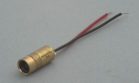 Фото 1/2 S-6, Лазерный модуль d8x18mm, точка, 5мВт, красный, 650нм