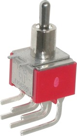 MTS-203-C3, Тумблер ON-OFF-ON (3A 250VAC) DPDT 6P