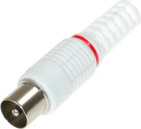 FD-2427 (MP-500) (белый), Штекер антенный без пайки под винт
