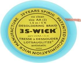 3S-WICK AA 1,5м, Оплетка для выпайки