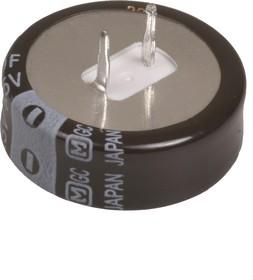 Фото 1/4 EECF5R5U105, 1 Ф, 5.5 В, 5 мм, 2208H, Ионистор