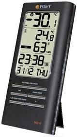 Фото 1/2 02315 RSTЦифровой термогигрометр, дом/улица, 2 будильника , черный корпус. EAN 7316040023156
