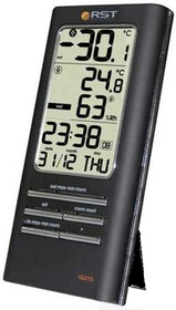 Фото 1/2 02315, Термогигрометр цифровой с часами