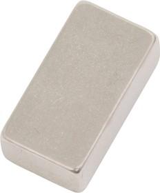 Фото 1/2 P 15х8х5, N35H, Магнит прямоугольник до 3.41 кг (покрытие Ni)