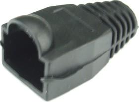 SS-320A-BLACK (DS1124-02), Колпачок черный для TP8P8C (RJ-45)