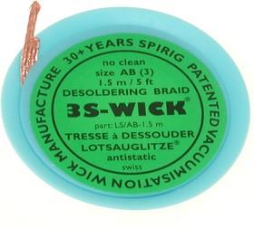 3S-WICK AB, Оплетка для выпайки