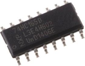 74HC165D,652, PISO SHIFT REGISTER,74HC165D SOIC16 2.6V