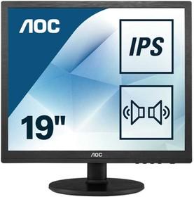 Фото 1/9 I960SRDA, Монитор жидкокристаллический AOC Монитор LCD 19'' [5:4] 1280х1024(SXGA) IPS, nonGLARE, 250cd/m2, H17