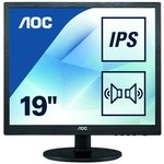 Фото 4/9 I960SRDA, Монитор жидкокристаллический AOC Монитор LCD 19'' [5:4] 1280х1024(SXGA) IPS, nonGLARE, 250cd/m2, H17