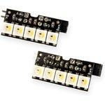 Neopixel stick 5x2 HD, Две линейки из 5-ти светодиодов Neopixel